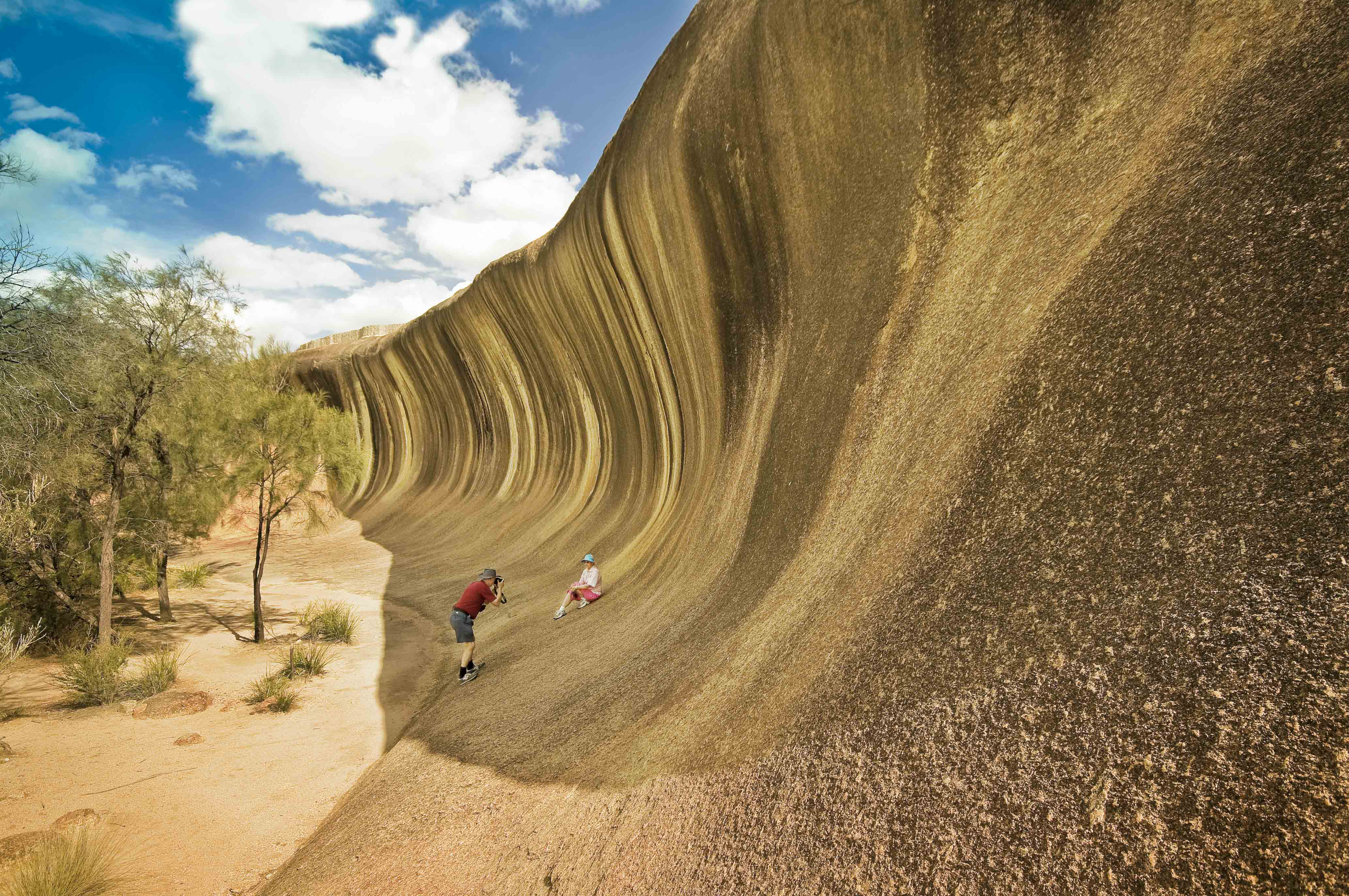 Wave Rock, Felsformation in Hyden